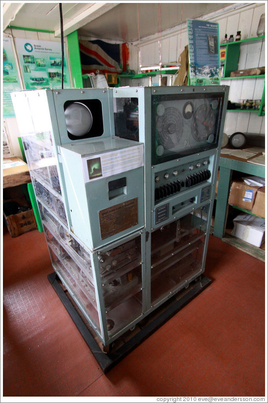 Automatic Ionospheric Recording Equipment.