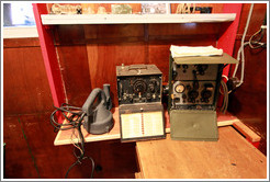 Radio room, Port Lockroy.