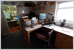 Radio room, Vernadsky Station.