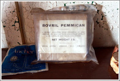"""Bovril"" Pemmican, ""A highly sustaining food .... For use in cold regions."""