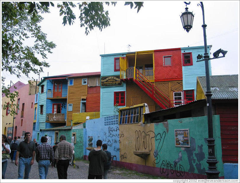 La Boca neighborhood.