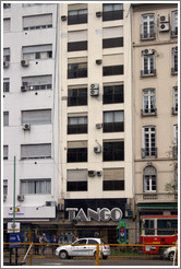 Tango building in the Centro district.