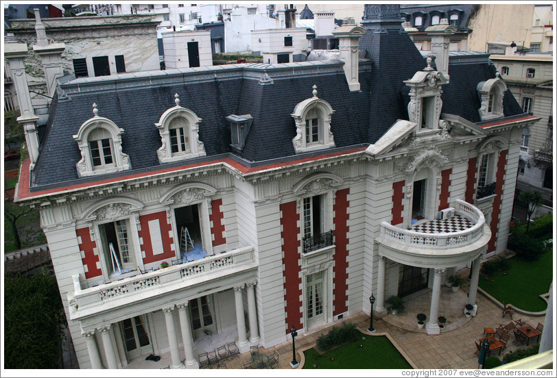 La Mansion at the Four Seasons hotel in the Recoleta district.