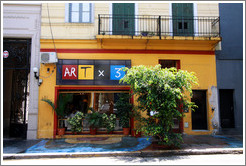 ARTx3, Calle Jorge Luis Borges, Palermo Viejo district.