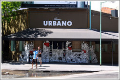 Urbano Bar, at the corner of Humbolt and Honduras, Palermo Hollywood.