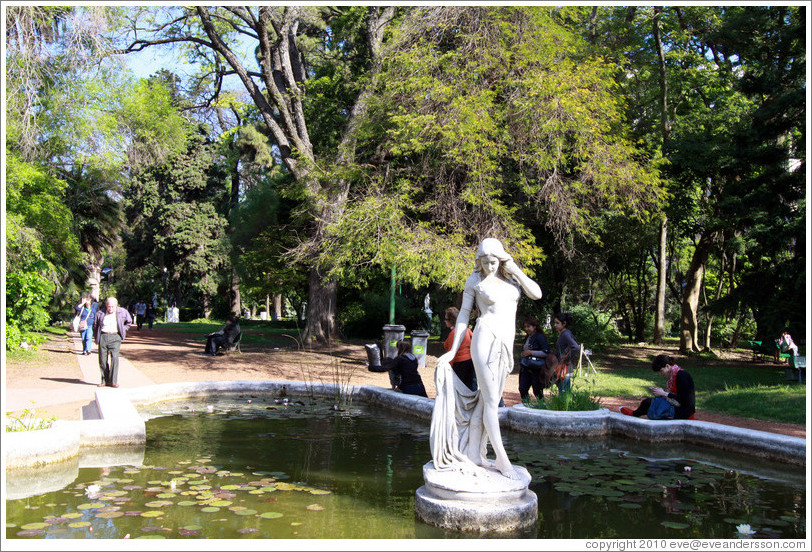 Fountain jard bot co carlos thays palermo photo id for Jardin zoologico buenos aires
