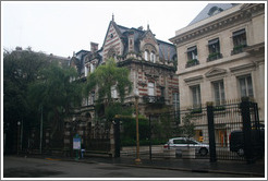 Buildings in the Recoleta district.