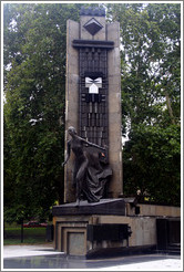 Plaza Evita, a monument to Eva Duarte de Per?Avenida del Libertador, Recoleta district.