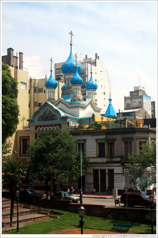 Catedral de la Sant?ma Trinidad, a Russian Orthodox Church, San Telmo district.