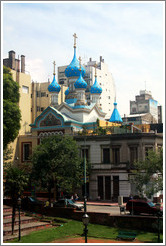 Catedral de la Sant�sima Trinidad, a Russian Orthodox Church, San Telmo district.