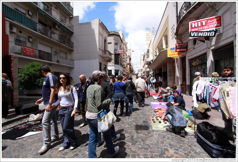 Sunday market, Calle Defensa, San Telmo.