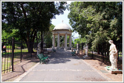 Rotunda, Parque Lezama, San Telmo district.