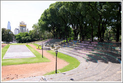 Stadium seating, Parque Lezama, San Telmo district.