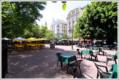 Plaza Dorrego, San Telmo district.