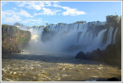 Iguazu Falls, view from Circuito Inferior.