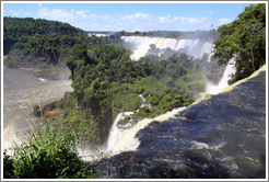Iguazu Falls, view from Circuito Superior.