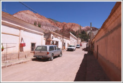 The town of Purmamarca.