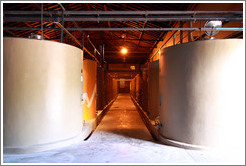 Cement tanks, Kaiken Winery, Luj�n de Cujo.