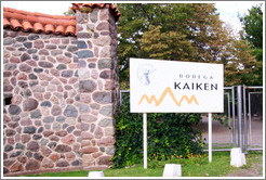 Sign, Kaiken Winery, Luj�n de Cujo.