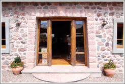 Tasting room entrance, Kaiken Winery, Luj�n de Cujo.