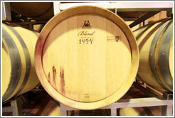 "Barrel labeled ""Blend Limited Edition 1494"", Lagarde, Luj�n de Cujo."