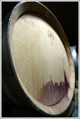 Stained barrel, Roberto Bonfanti, Luj�n de Cujo.