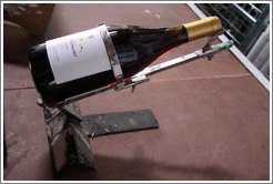 Hand labeler, used when a label has a problem and needs to be redone. Domaine Jean Bousquet, Valle de Uco.