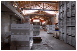 Warehouse, Domaine Jean Bousquet, Valle de Uco.