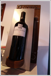 Bottle of 2008 Elementos Malbec. Bodega El Esteco.