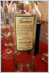Label of a wonderful Torrontes by Gualiama.