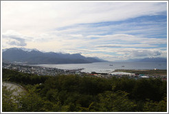 Ushuaia, viewed from Ruta Nacional No 3.