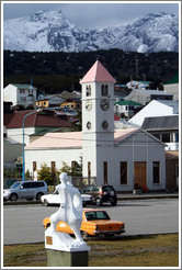 La Iglesia Parroquial de Ushuaia, the first Catholic church in Ushuaia.