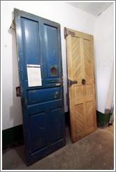 Old jail cell doors.  Museo Mar�timo de Ushuaia.
