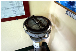 Tax�metro (looks like a compass).  Museo Mar�timo de Ushuaia.