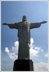 Cristo Redentor (Christ the Redeemer) at the top of Corcovado Mountain.