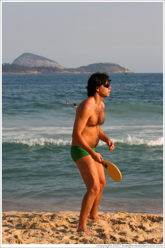 Men on brazilian beaches