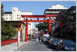 Liberdade, a Japanese district in São Paulo.