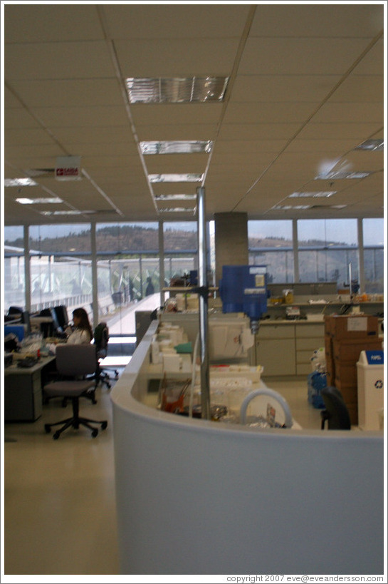 Laboratory. Headquarters of Natura, Brazil's largest cosmetics company.