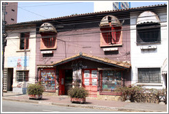 Brown CD store.  Rua Artur de Azevedo near Rua Ant? Bicudo.  Villa Magdalena neighborhood.