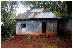 Building in a tribal compound.