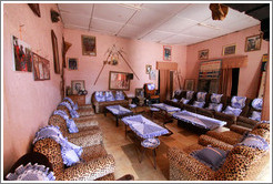 Sitting room, tribal compound.