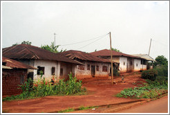 Houses on Route N5.