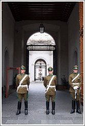 Guards, La Moneda.
