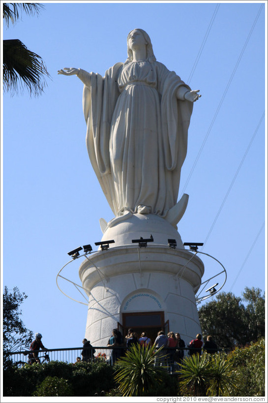 Virgen Mary, Cerro San Crist?.