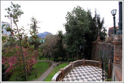 One of the gardens, Cerro Santa Luc�a.