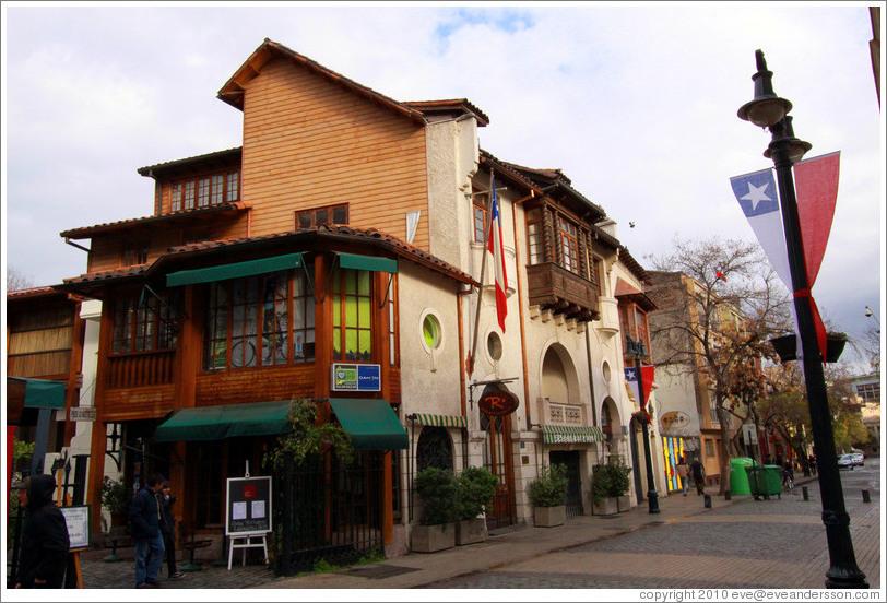 ... ictorino Lastarria, Lastarria neighborhood. (Photo ID 18577-santiago