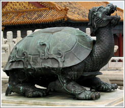 Dragon turtle.  Forbidden City.