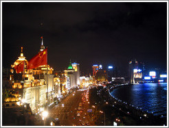 Bund at night.