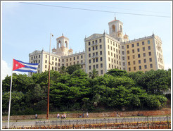 Hotel Nacional de Cuba, viewed from the Malecón.