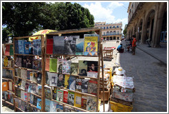 Books, Plaza de Armas, Old Havana.